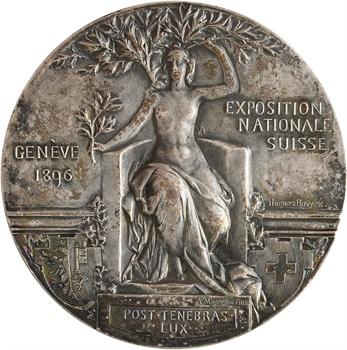 Suisse, Genève, Exposition Nationale Suisse, par Bovy, 1896
