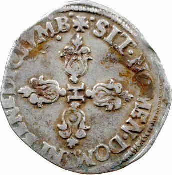 Henri IV, demi-franc, 159[3] Montpellier