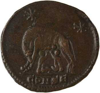 Vrbs Roma, nummus, Constantinople, 330-333