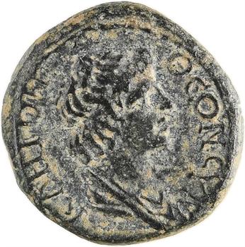 Mysie, sous Claude ou Néron, assarion, monnayage pseudo-autonome, Pergame, 40-60