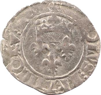 Charles VI, florette 5e émission, juillet 1419, Troyes