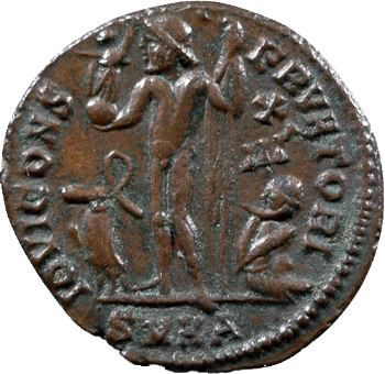 Licinius II, nummus, Héraclée, 321-324