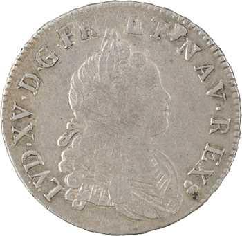 Louis XV, demi-écu de Navarre, 1719 Reims