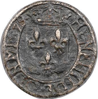 Carcassonne, poids de ville d'une demi-livre, 1578