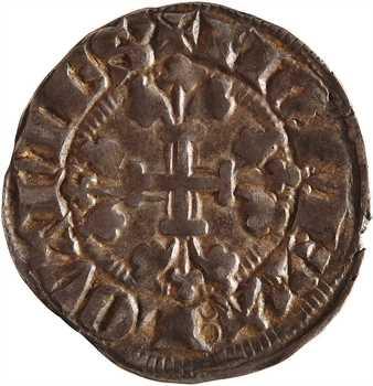 [Belgique] Brabant (duché de), Jean III, esterlin à l'écu, Louvain