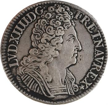 Louis XIV, écu aux trois couronnes, 1709 Paris