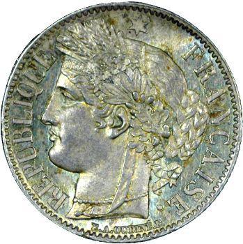 IIe République, 1 franc Cérès, 1850 Paris