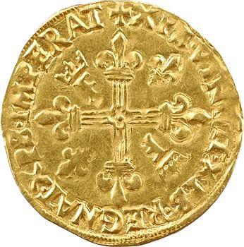 François Ier, écu d'or au soleil 9e type, Gênes
