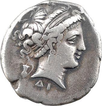 Campanie, Naples, didrachme, c.300-275 av. J.-C.