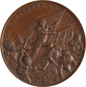 Turquie, la Guerre de Crimée et la bataille de l'Alma, par Pinches, 1854