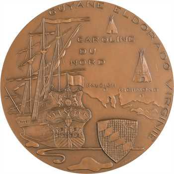 Royaume-Uni/ États-Unis, Sir Walter Raleigh, par Asselbergs, 1973 Paris