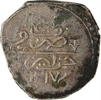Algérie, Sélim III, demi-budju, AH 1217 (1802)