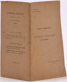 Collection Essonville-Bligny (M. d'), Monnaies françaises et étrangères, vente Raymond Serrure, Paris 1897
