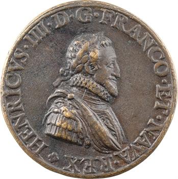 Henri IV, entrée à Paris, 1594 Paris, fonte ancienne
