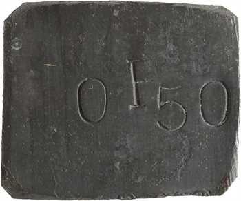 Guyane, Cayenne (Pénitencier de), 0,50 franc, Louit, s.d (av.1946)