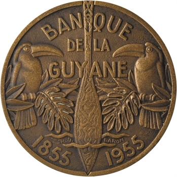 Guyane, centenaire de la Banque de la Guyane, par Baron, 1955 Paris