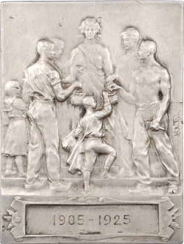 Lamourdedieu et Kautsch : Caisse d'épargne de Sézanne, 1925 Paris