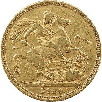 Royaume-Uni, George IV, souverain, 1824 Londres