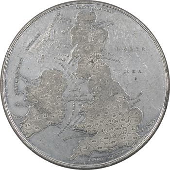Royaume-Uni, couronnement de la reine Victoria, par J. Davis, 1838 Birmingham