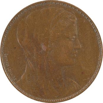IIIe République, épreuve de 5 centimes œuvre d'Ormesson, par Georges Lemaire, 1909 Paris