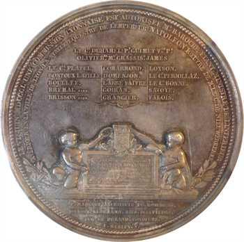 IIe République, inauguration de la statue équestre de Napoléon Ier à Lyon, 1852 Paris, PCGS SP64