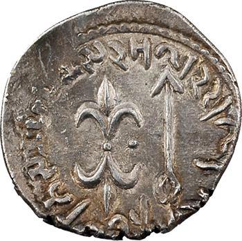 Indo-parthes, royaume Kshaharata, Nahapana, drachme, (c.105-125)