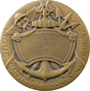 IIIe République, la Ligue Maritime et Coloniale Française, Mlle le Roi, 1931 Paris