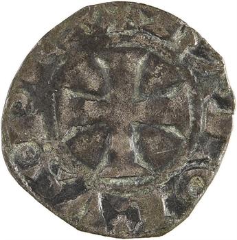Évreux (comté d'), Charles le Mauvais, denier tournois, s.d. (après 1354)