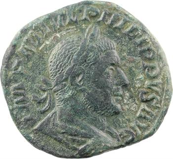 Philippe Ier l'Arabe, sesterce, Rome, 249