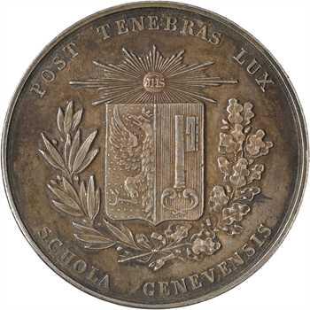 Suisse, Genève, récompense scolaire, s.d. (XIXe siècle)