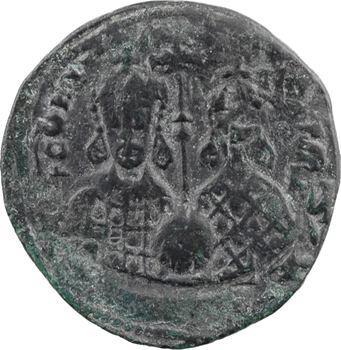 Constantin VII et Romain II, follis type 6, Constantinople, 945-959