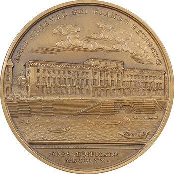 Tunisie/France, Ahmed II (Sidi Ahmed Pacha Bey) visite la Monnaie de Paris, 16 juillet 1930 Paris