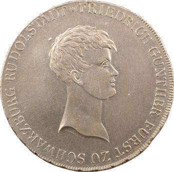 Allemagne, Schwarzbourg-Rudolstadt, Frédéric Gunther, thaler, 1812 Saalfeld