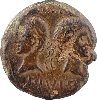 Nîmes, Auguste et Agrippa, as, Nîmes, c.9-3 av. J.-C