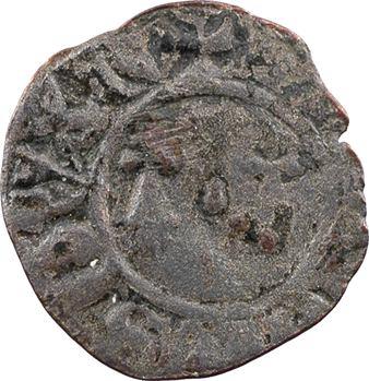 Bretagne (duché de), Jean IV, denier tournois, s.d. (après 1385) Rennes