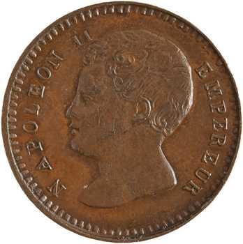 Napoléon II, essai de 1 centime, 1816 (1860) Bruxelles