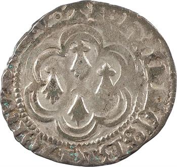 Bretagne (duché de), Jean V, blanc aux quatre mouchetures, s.d. (c.1423-1436) Vannes