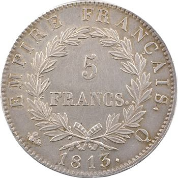 Premier Empire, 5 francs Empire, 1813 Perpignan