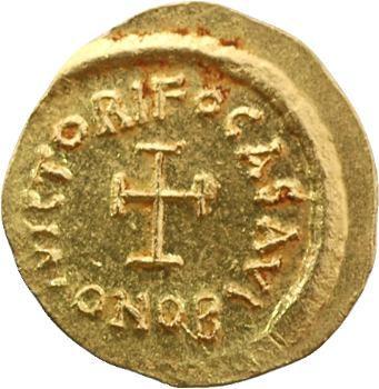 Phocas, trémissis, Constantinople, 602-610