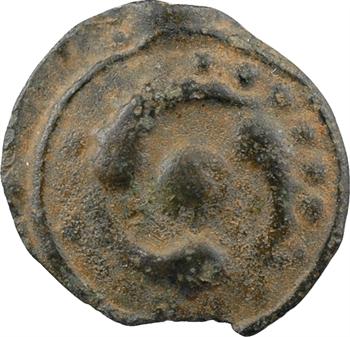 Lingons, potin dit aux trois poissons, c.80-50 av. J.-C