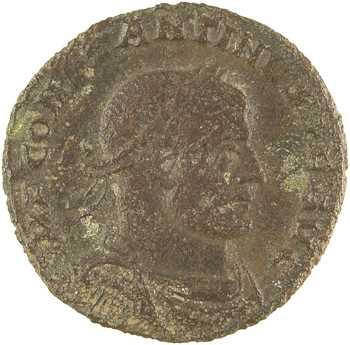 Constantin Ier, follis, Arles, 315-316
