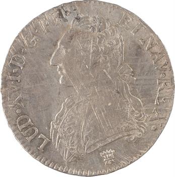 Louis XVI, écu aux rameaux d'olivier, 1789 Limoges