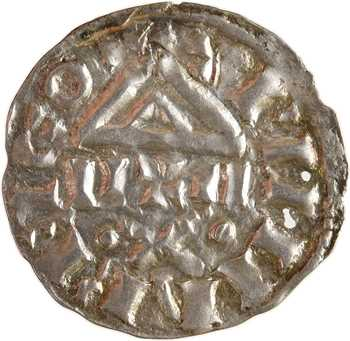 Suisse, Valais, denier au temple au nom de Louis (le Pieux), s.d. (12e s.)