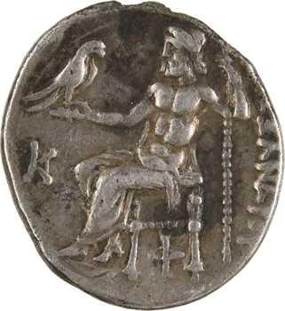 Macédoine, au nom d'Alexandre le Grand, drachme, Colophon, c.310-301 av. J.-C