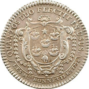 Paris (ville de), 5e corps des marchands bonnetiers, 1758