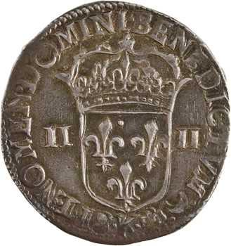 Louis XIV, quart d'écu croix de face, 1644 Bordeaux