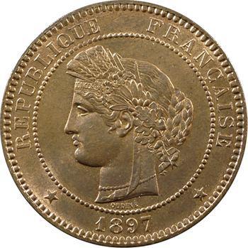 IIIe République, 10 centimes Cérès, 1897 Paris
