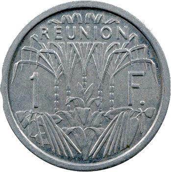 Réunion, 1 franc République française – Union française, 1948