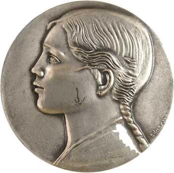 Algérie, l'Algérie, par Belmondo, en argent, s.d. (1954) Paris