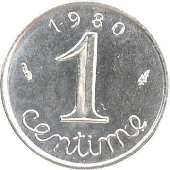 Ve République, 1 centime épi, 1980 Pessac